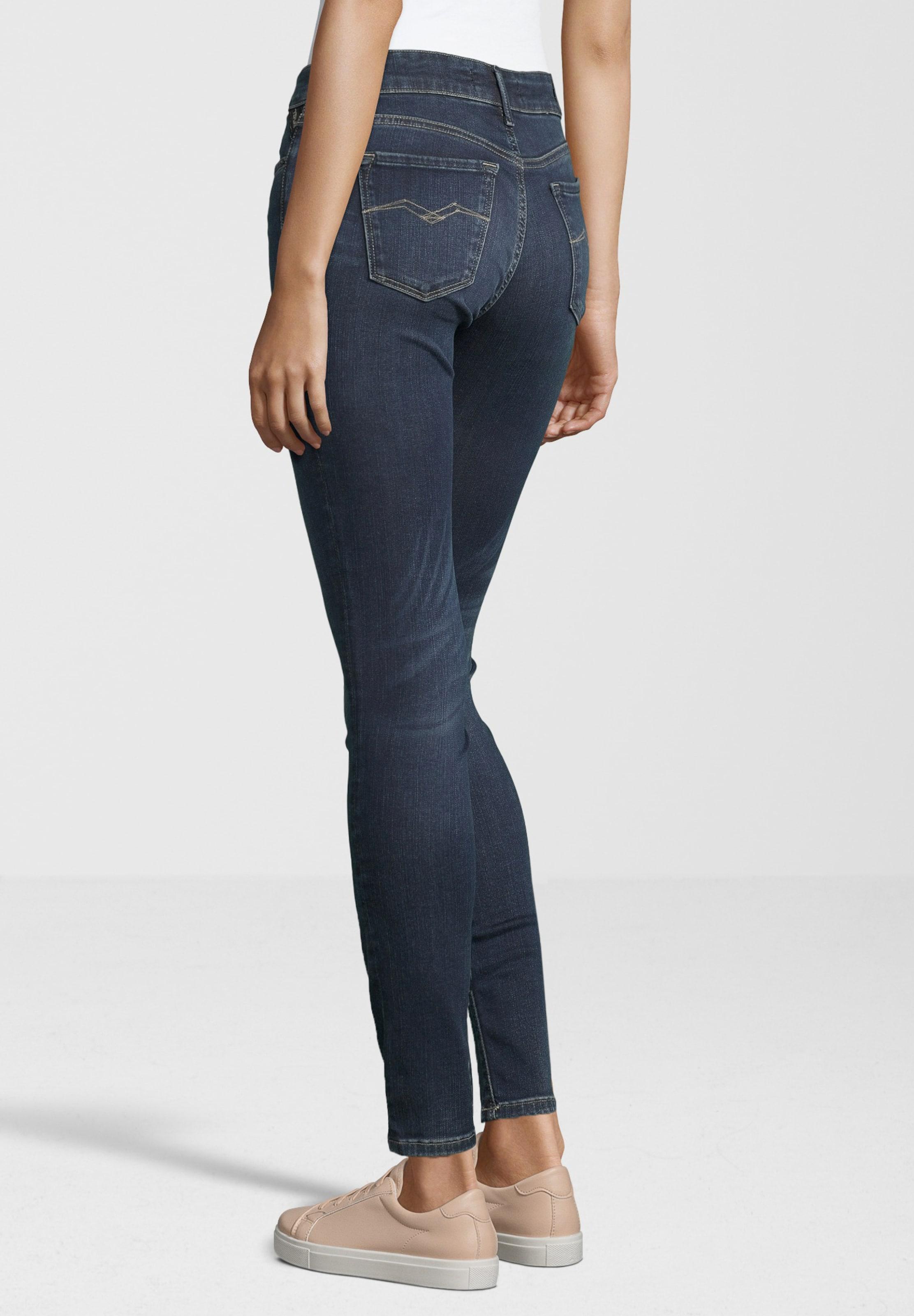 Waist' BlauBlue Jeans 'luz Replay In High Denim qVUzSMp
