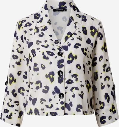 Trendyol Shirt in sand / weiß, Produktansicht