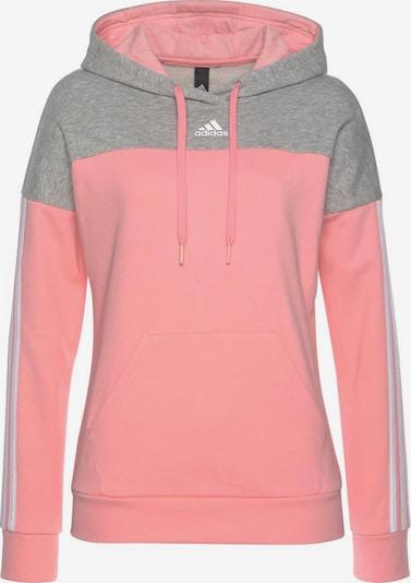 ADIDAS PERFORMANCE Sweatshirt in graumeliert / rosa, Produktansicht