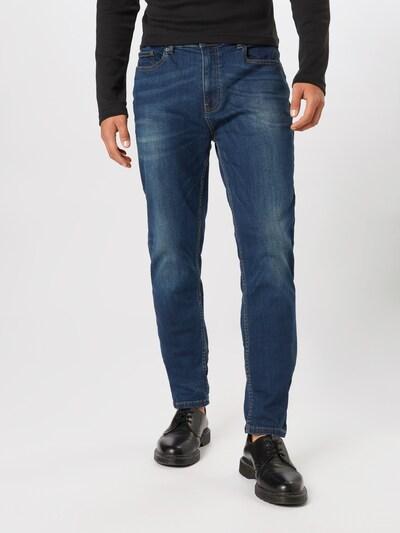 Jeans BURTON MENSWEAR LONDON pe denim albastru: Privire frontală