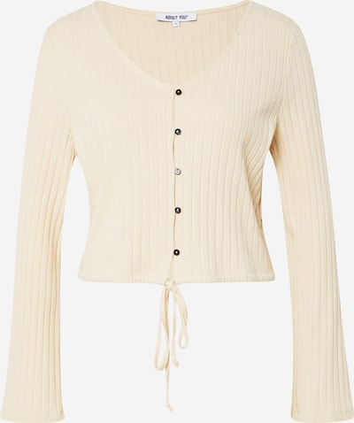 ABOUT YOU Shirt 'Nora' in de kleur Beige / Crème, Productweergave