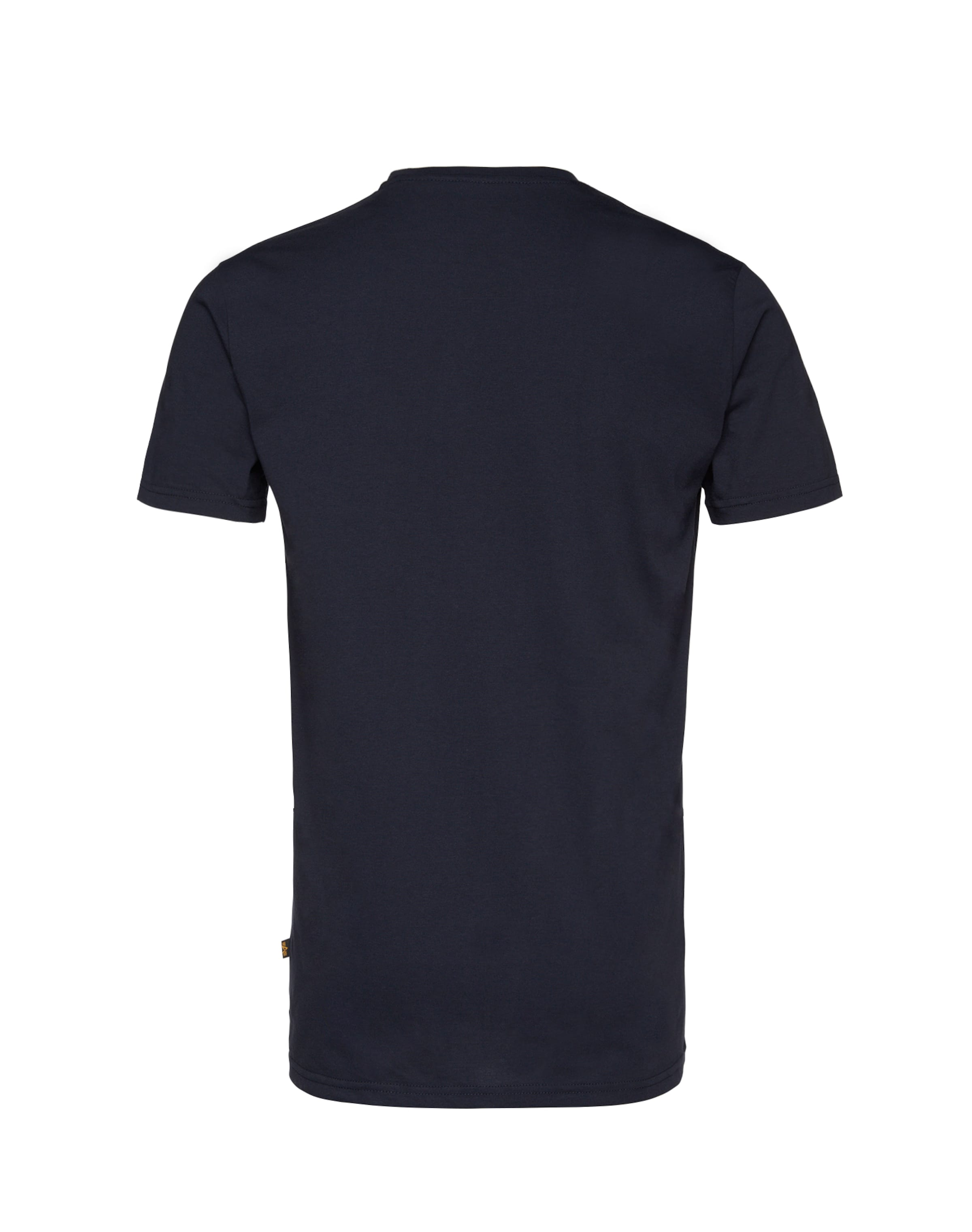 shirt Alpha En Bleu T Industries MarineBlanc kiuXZOPT