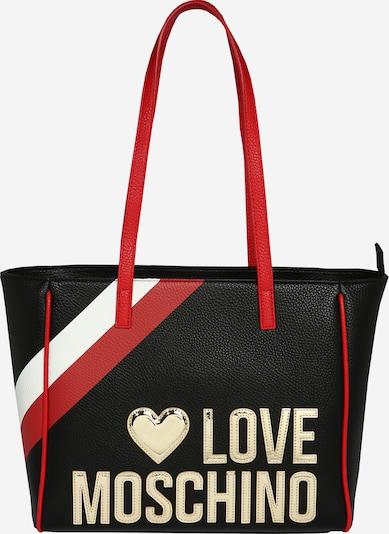 Love Moschino Shopper 'BORSA PEBBLE' - červené / čierna, Produkt