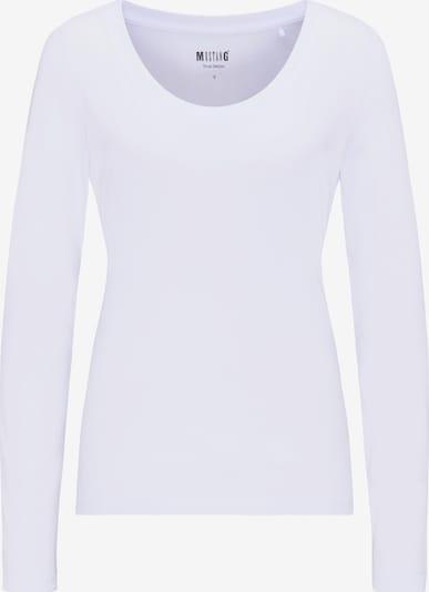 MUSTANG T-Shirt ' Basic-Longsleeve ' in lila, Produktansicht