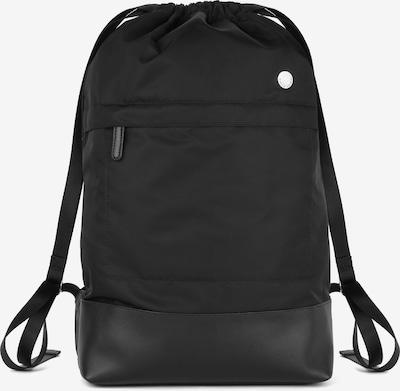 Pierre Cardin Leatherwear Rucksack 52 cm in schwarz, Produktansicht