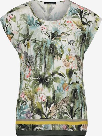 Betty Barclay Blouse in de kleur Beige / Turquoise / Geel / Kaki, Productweergave