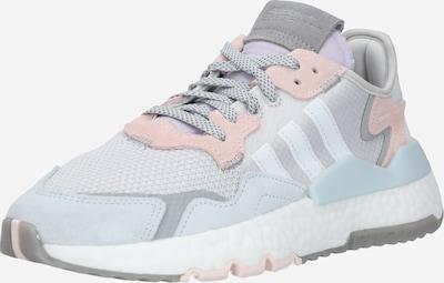 ADIDAS ORIGINALS Sneakers laag 'NITE' in de kleur Opaal / Lichtgrijs / Rosa / Wit, Productweergave