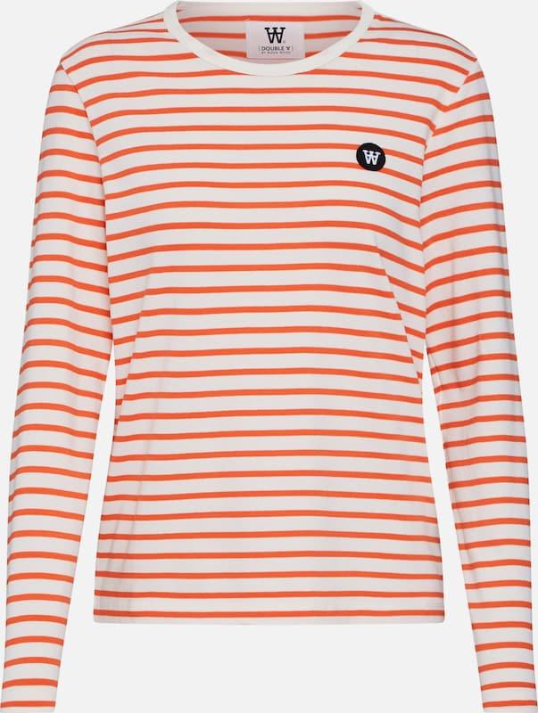 'moa' En OrangeBlanc Wood T shirt qGjVLSpzMU
