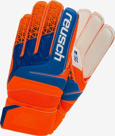 REUSCH Torwarthandschuh 'Prisma SG Finger Support' in beige / blau / orange, Produktansicht