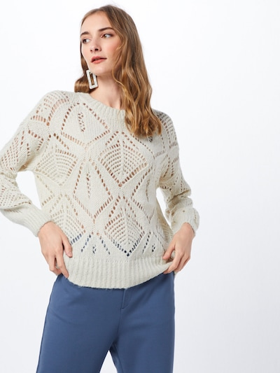 ONLY Džemperis pieejami gandrīz balts: Priekšējais skats