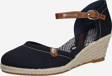 Dockers by Gerli Sandals in Blue