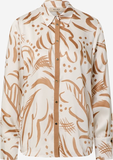 MOS MOSH Bluse 'Jodie Tory' in hellbeige / braun, Produktansicht