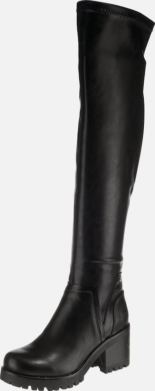 I´m walking Leder Overknee Stiefel, cognac in Größe 36