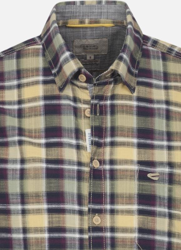 CAMEL ACTIVE Hemd Hemd Hemd in sand   marine   pastellgrün   beere   weiß  Markenkleidung für Männer und Frauen 12922a