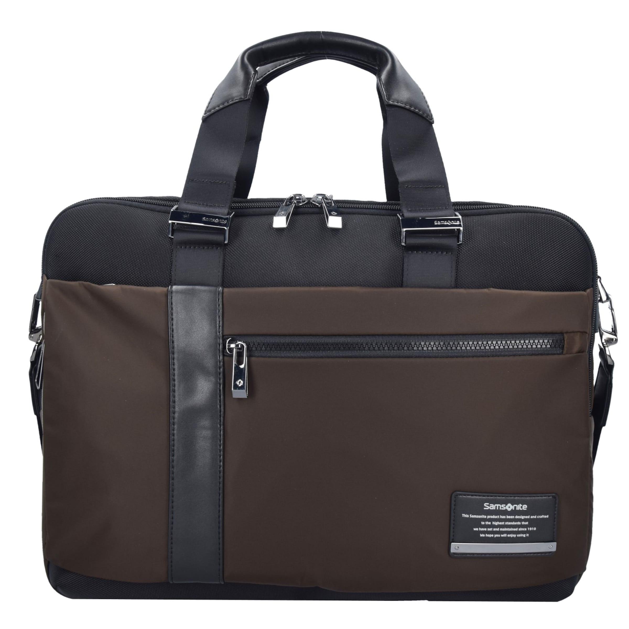 SAMSONITE Openroad Aktentasche Leder 45 cm Laptopfach Rabatt 100% Original ZqrEI