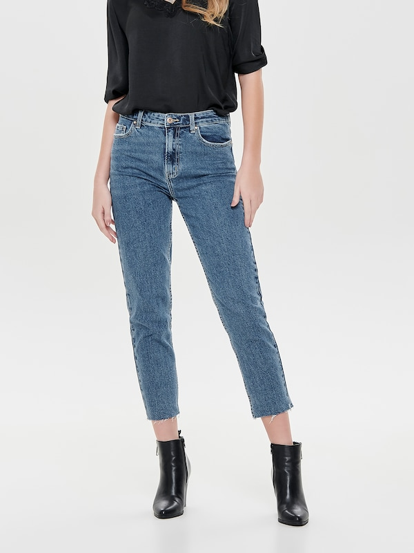 ONLY Jeans 'EMILY' in blue denim, Modelansicht