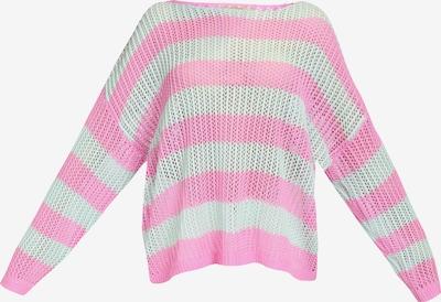 MYMO Pullover in mint / pink, Produktansicht