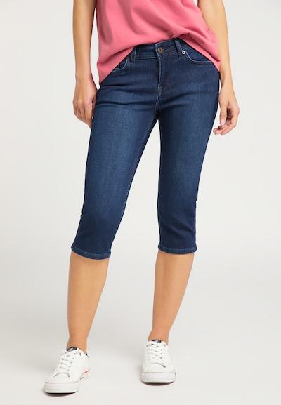 MUSTANG Hose ' Jasmin Capri ' in blau, Modelansicht