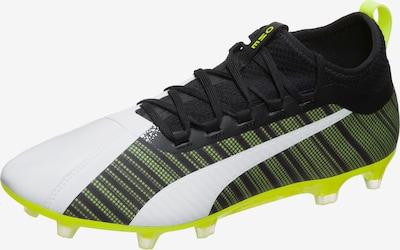 PUMA Fußballschuh 'ONE 5.2' in neongelb / schwarz / weiß, Produktansicht