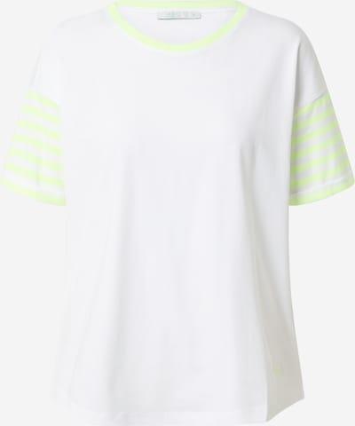 EDC BY ESPRIT Majica | svetlo rumena / bela barva, Prikaz izdelka