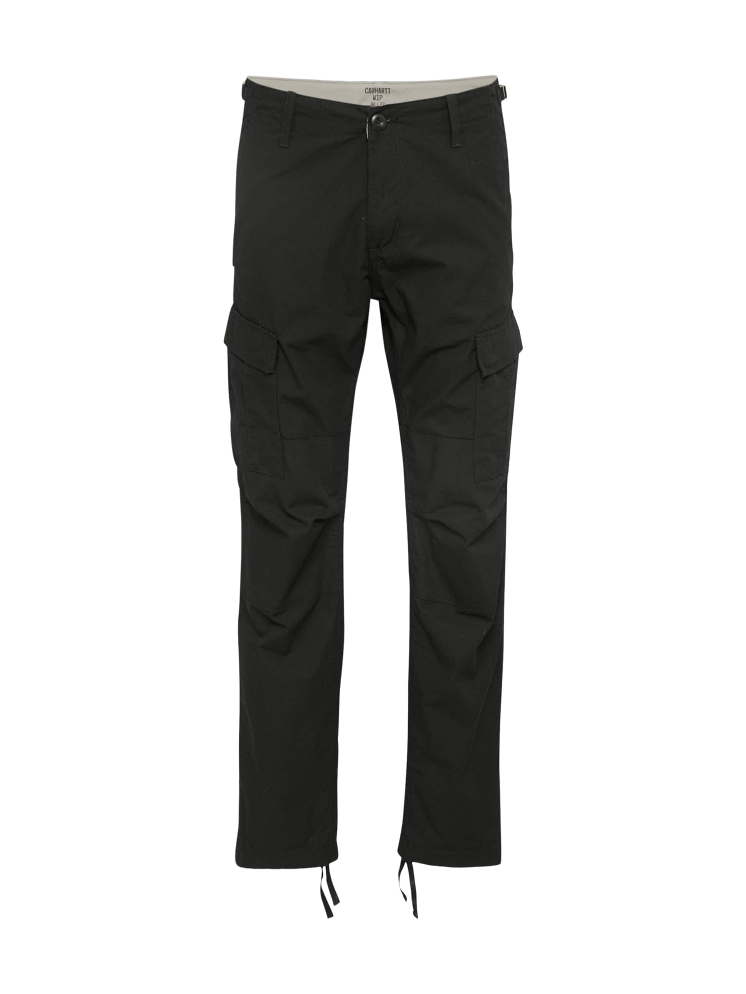Pant' Wip Carhartt Cargo 'aviation En Pantalon Noir 0Pkw8nO