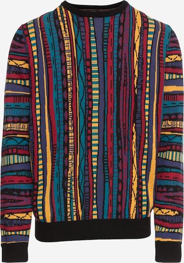 Iriedaily Trui 'Theodore' in de kleur Gemengde kleuren / Zwart, Productweergave