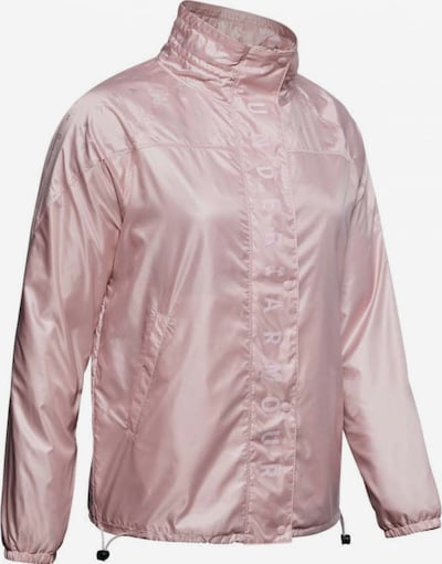 UNDER ARMOUR Jacke 'Athlete Recovery Woven' in rosa, Produktansicht