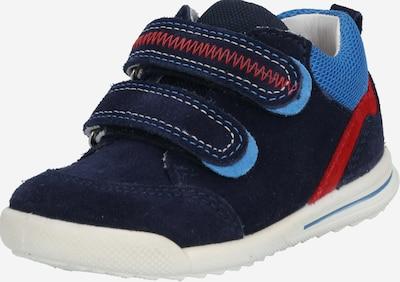 SUPERFIT Väikelaste jalatsid 'AVRILE' mariinsinine / helesinine / punane: Eestvaade