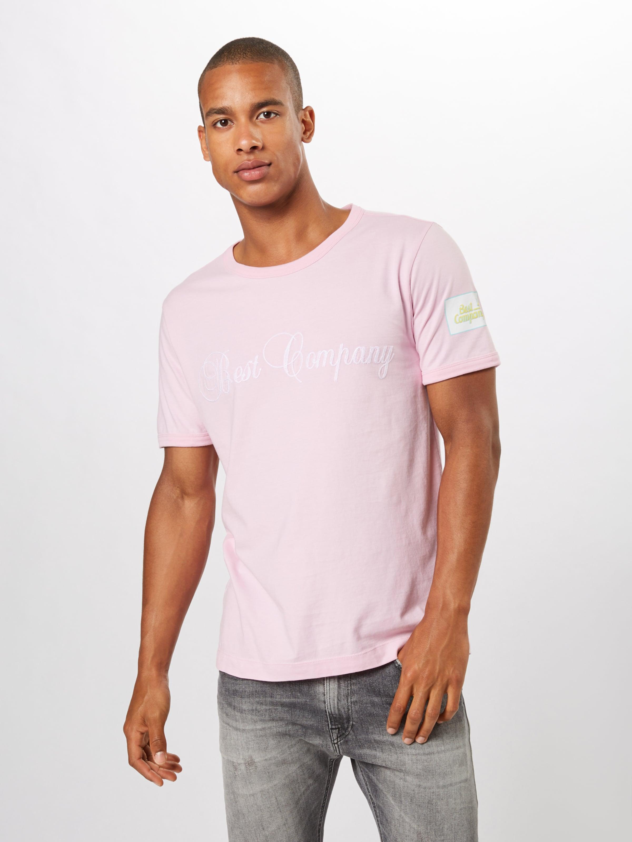 Rosa Best Company Weiß HellblauGelb shirt T In dWQCxBroeE