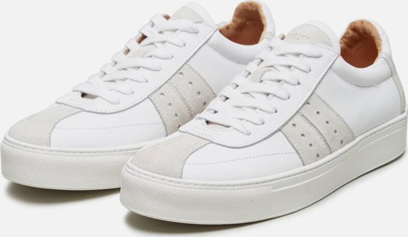 Vielzahl von den StilenSELECTED FEMME Leder Sneakerauf den von Verkauf 6da3ab