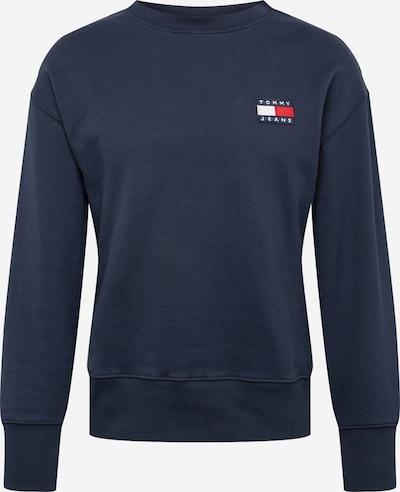 Tommy Jeans Sweat-shirt en bleu foncé, Vue avec produit