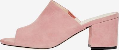 Bianco Mule en rose: Vue de face