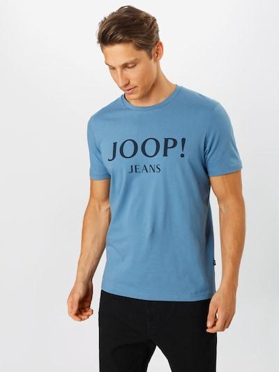 JOOP! Jeans Tričko 'Alex' - modrá / černá: Pohled zepředu