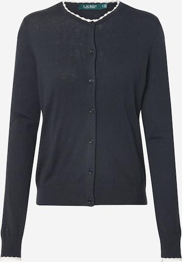 Lauren Ralph Lauren Gebreid vest 'YAMISE-LONG SLEEVE-SWEATER' in de kleur Zwart, Productweergave