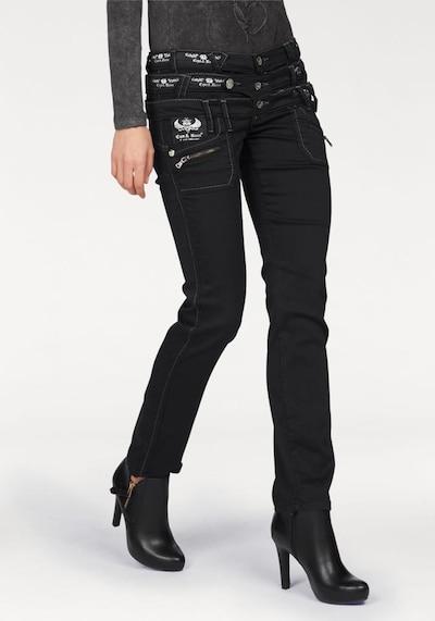 CIPO & BAXX Jeans in schwarz, Modelansicht