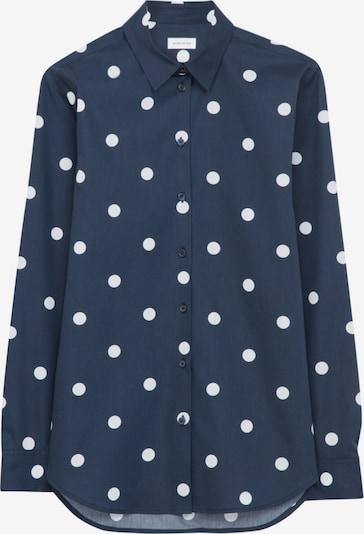 Bluză SEIDENSTICKER pe albastru / alb, Vizualizare produs