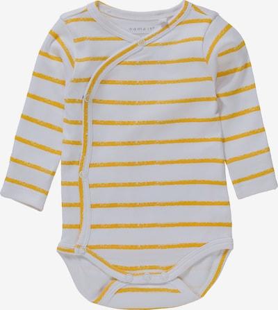 NAME IT Body - zlatá žltá / biela, Produkt
