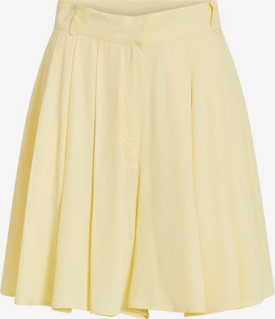 VILA Shorts 'Visuvita' in pastellgelb, Produktansicht