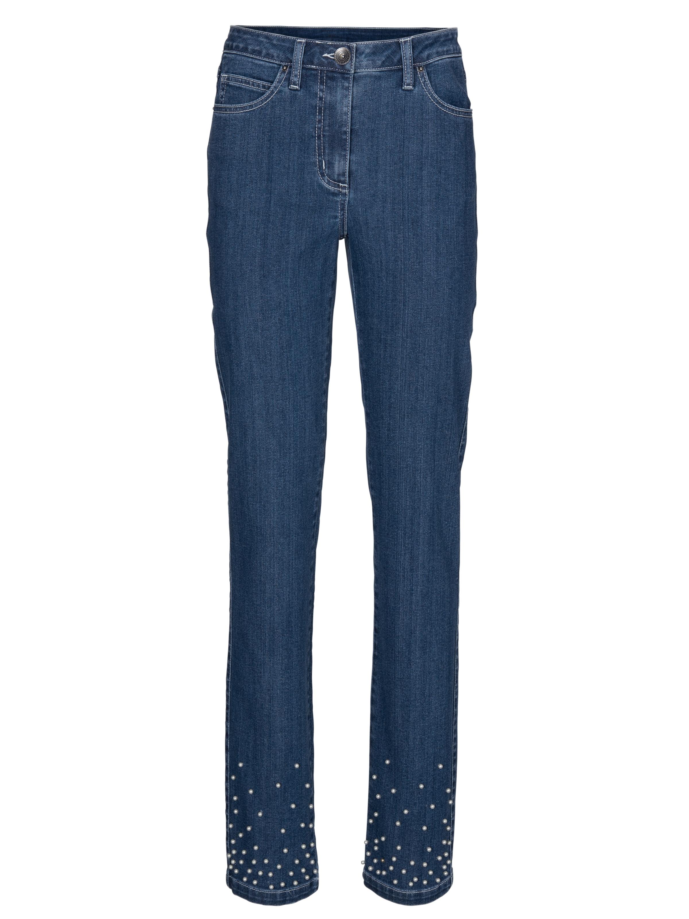 heine Jeans i blå denim