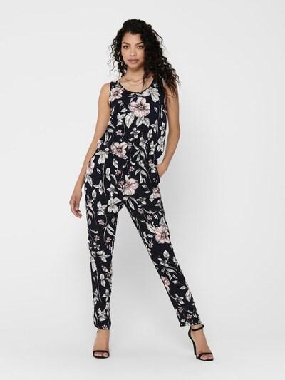 ONLY Bedruckter Jumpsuit in mischfarben / schwarz, Modelansicht