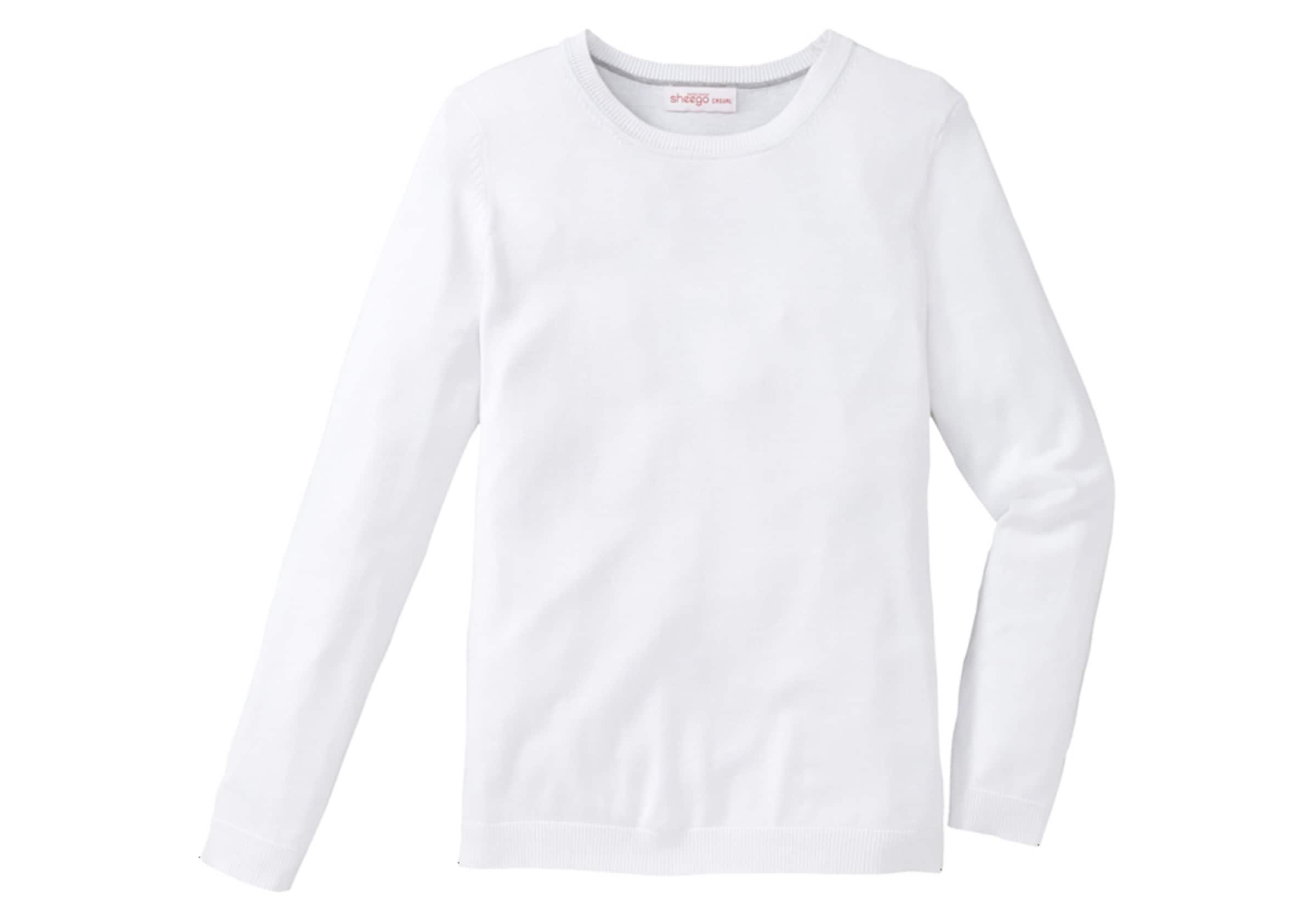 sheego casual Basic Pullover Verkauf Erkunden Original- Freies Verschiffen Wahl Steckdose Billig Authentisch Rabatt Empfehlen n0Z8DQwN