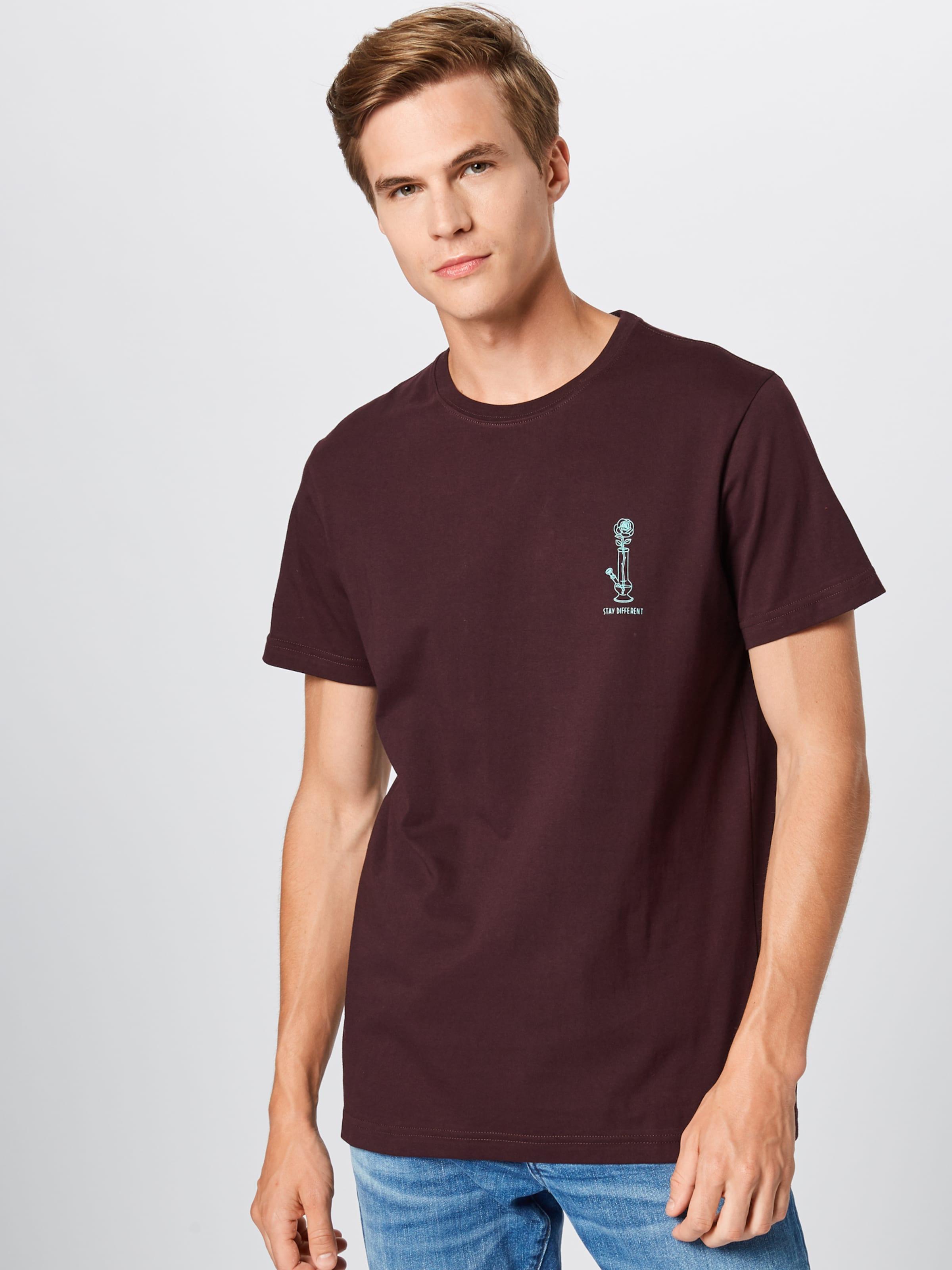In Iriedaily 'rosebong Tee' Shirt Aubergine rxBdCshotQ