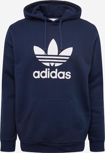 ADIDAS ORIGINALS Sweatshirt 'Trefoil' in marine / weiß, Produktansicht