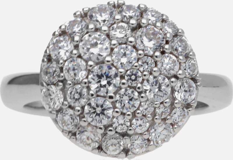 JOOP! Damen Fingerring Silber Silber Demi JPRG90679A
