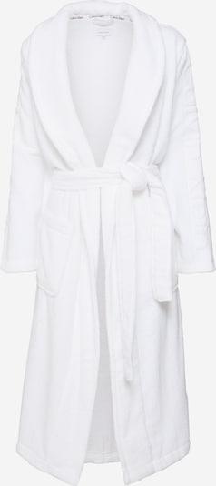 Ilgas maudymosi chalatas 'Robe' iš Calvin Klein Underwear , spalva - balta, Prekių apžvalga