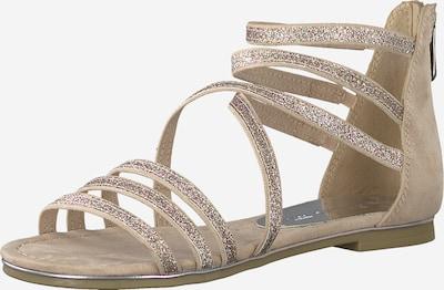 Sandale cu baretă MARCO TOZZI pe roze, Vizualizare produs