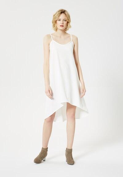 Usha Zomerjurk in de kleur Wit: Vooraanzicht