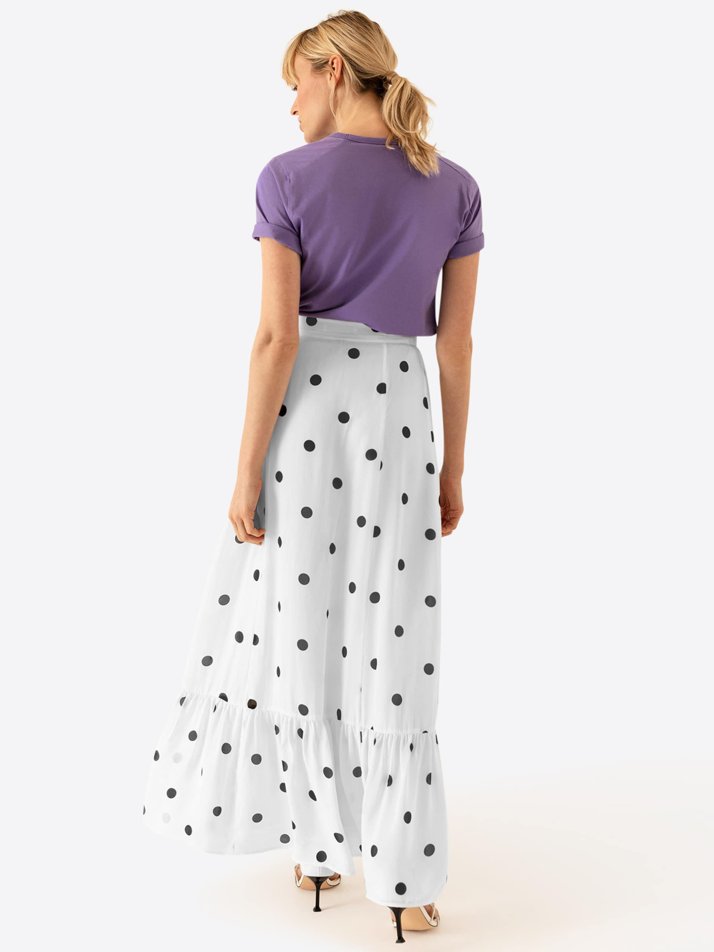 Ivyamp; Oak Oak Ivyamp; Skirt In SchwarzWeiß KF1JTcl