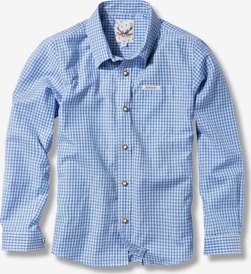 STOCKERPOINT Button Up Shirt 'Dave Jr' in Blue