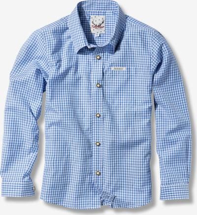 STOCKERPOINT Hemd 'Dave Jr' in blau / weiß, Produktansicht